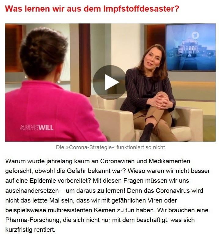 Aus dem Posteingang von Dr. Sahra Wagenknecht (MdB) - Team Sahra 11.02.2021 - Ausnahmezustand als Dauerzustand? - Abschnitt 3 von 7 Abschnitten