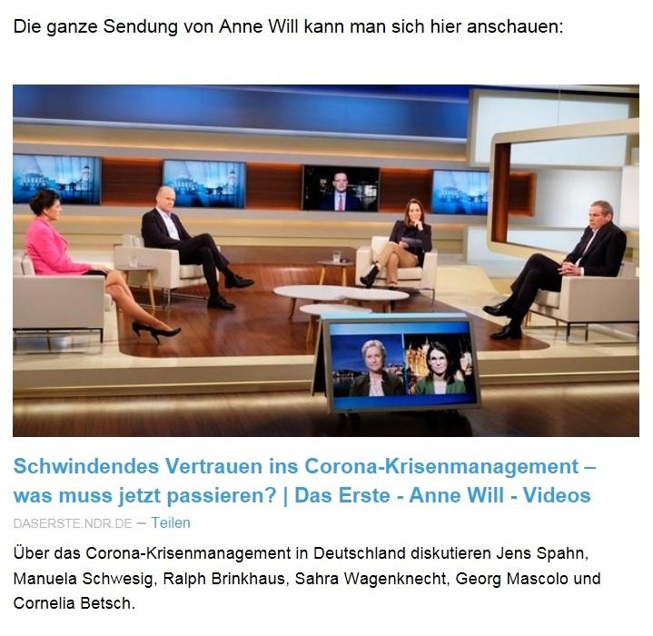 Aus dem Posteingang von Dr. Sahra Wagenknecht (MdB) - Team Sahra 11.02.2021 - Ausnahmezustand als Dauerzustand? - Abschnitt 4 von 7 Abschnitten