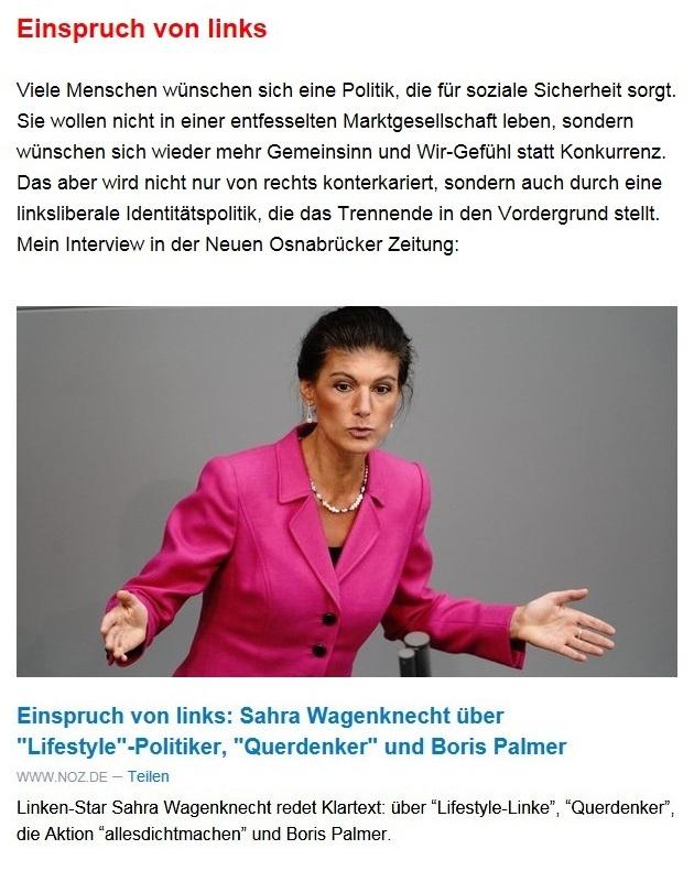 Aus dem Posteingang von Dr. Sahra Wagenknecht (MdB) - Team Sahra 13.05.2021 - Niedriglöhne und soziale Spaltung bekämpfen - Abschnitt 2