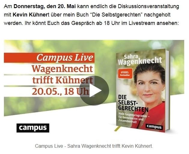 Aus dem Posteingang von Dr. Sahra Wagenknecht (MdB) - Team Sahra 13.05.2021 - Niedriglöhne und soziale Spaltung bekämpfen - Abschnitt 5