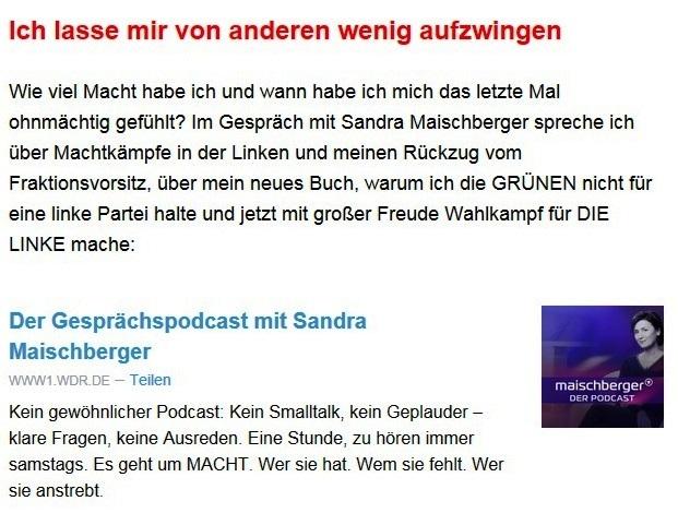 Aus dem Posteingang von Dr. Sahra Wagenknecht (MdB) - Team Sahra 13.05.2021 - Niedriglöhne und soziale Spaltung bekämpfen - Abschnitt 7