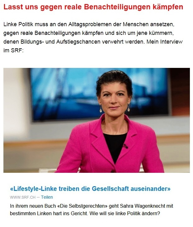 Aus dem Posteingang von Dr. Sahra Wagenknecht (MdB) - Team Sahra 13.05.2021 - Niedriglöhne und soziale Spaltung bekämpfen - Abschnitt 9