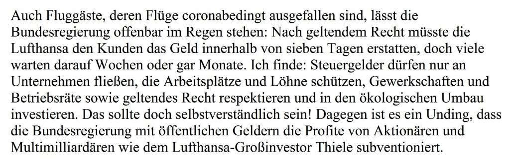Aus dem Posteingang von Dr. Sahra Wagenknecht (MdB) - Team Sahra 13.08.2020 - SPD: Von Wahl zu Wahl zu Wahl der gleiche Fehler