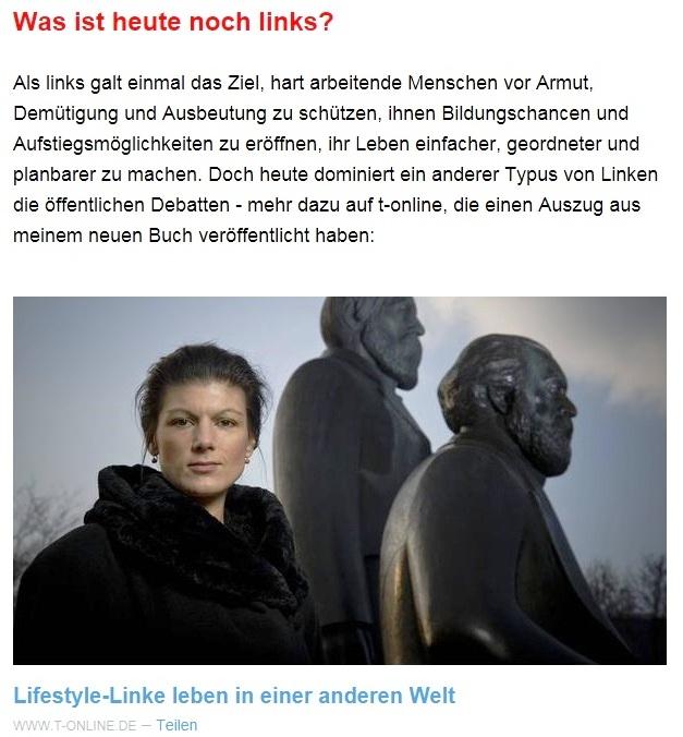 Aus dem Posteingang von Dr. Sahra Wagenknecht (MdB) - Team Sahra 15.04.2021 - Die Selbstgerechten - Anstoß zu einer nötigen Debatte - Abschnitt 2