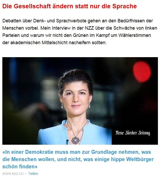 Aus dem Posteingang von Dr. Sahra Wagenknecht (MdB) - Team Sahra 15.04.2021 - Die Selbstgerechten - Anstoß zu einer nötigen Debatte - Abschnitt 5
