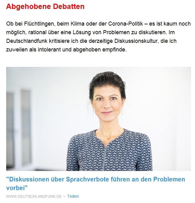 Aus dem Posteingang von Dr. Sahra Wagenknecht (MdB) - Team Sahra 15.04.2021 - Die Selbstgerechten - Anstoß zu einer nötigen Debatte - Abschnitt 6