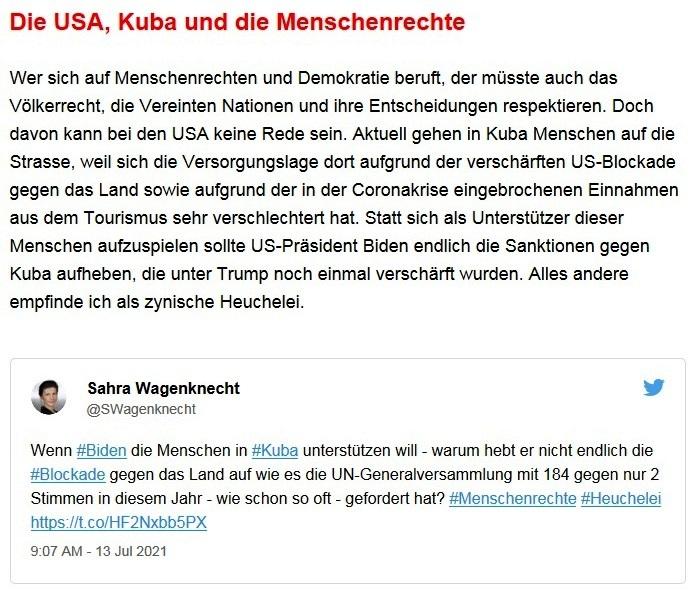 Aus dem Posteingang von Dr. Sahra Wagenknecht (MdB) - Team Sahra 15.07.2021 - Die Menschen vor Katastrophen und Lebensrisiken besser schützen! - Abschnitt 5 - Link: https://www.sahra-wagenknecht.de/