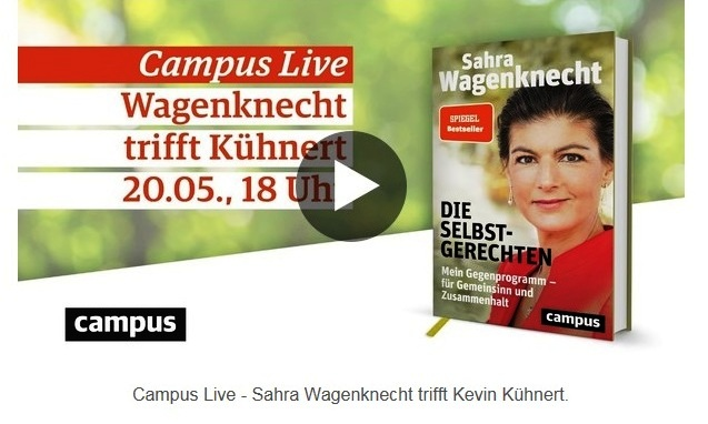 Aus dem Posteingang von Dr. Sahra Wagenknecht (MdB) - Team Sahra 20.05.2021 - Was ist heute links? - Abschnitt 2