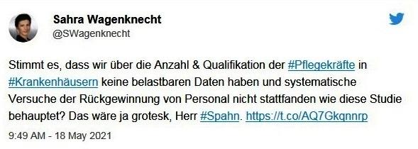 Aus dem Posteingang von Dr. Sahra Wagenknecht (MdB) - Team Sahra 20.05.2021 - Was ist heute links? - Abschnitt 5