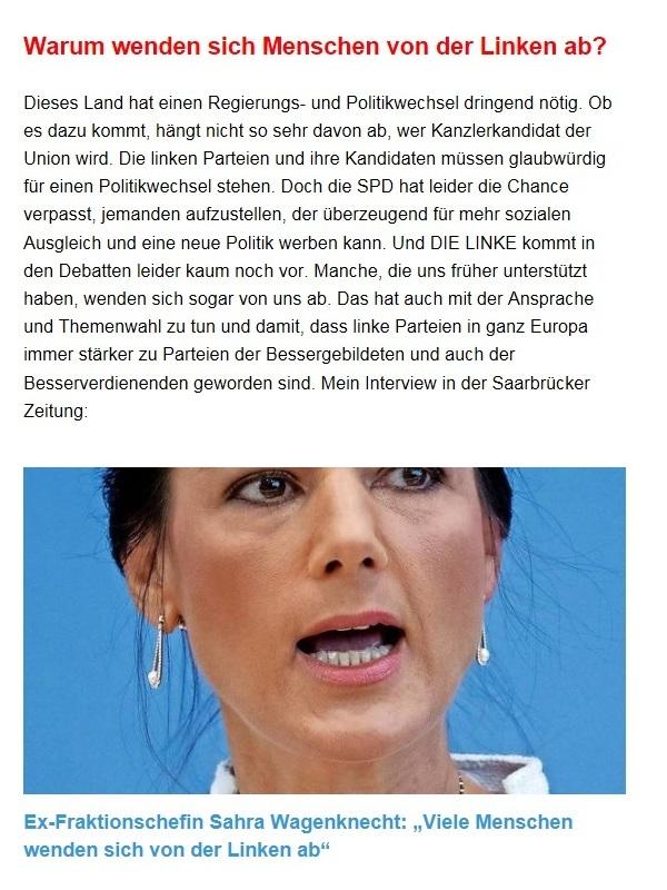 Aus dem Posteingang von Dr. Sahra Wagenknecht (MdB) - Team Sahra 21.01.2021 - Warum auch dieser Lockdown nicht die Lösung ist - Abschnitt 3