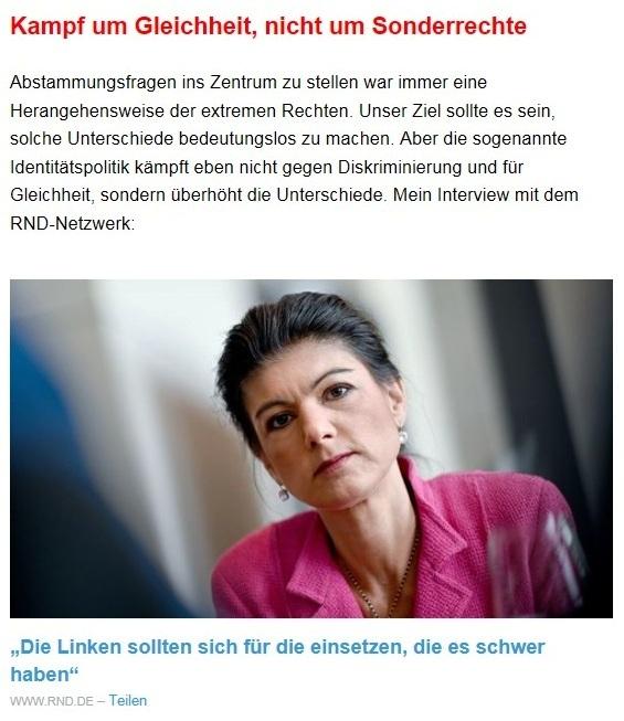 Aus dem Posteingang von Dr. Sahra Wagenknecht (MdB) - Team Sahra 22.04.2021 - Diese 'Notbremse' wird Nöte steigern - Abschnitt 5 - Link: https://www.rnd.de/politik/sahra-wagenknecht-die-linken-sollten-sich-fur-die-einsetzen-die-es-schwer-haben-4L3ZJ2E3CBAMDHEZCEBRWK52A4.html?utm_campaign=Sahra%20Wagenknecht&utm_medium=email&utm_source=Revue%20newsletter
