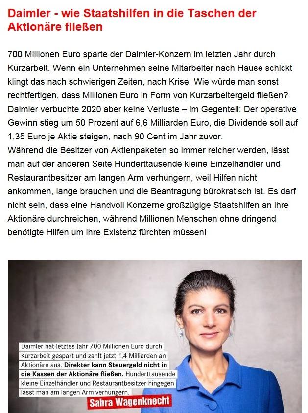 Aus dem Posteingang von Dr. Sahra Wagenknecht (MdB) - Team Sahra 25.02.2021 - Bezahlbare Miete statt fette Rendite - Abschnitt 6 von 7 Abschnitten