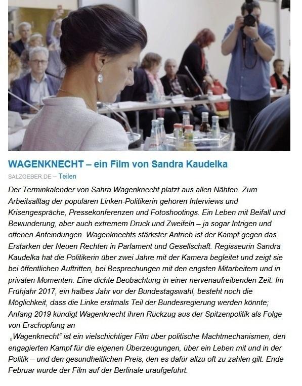 Aus dem Posteingang von Dr. Sahra Wagenknecht (MdB) - Team Sahra 26.11.2020 - Ohne Plan und Strategie – Die Bundesregierung und der nächste Lockdown - Abschnitt 3