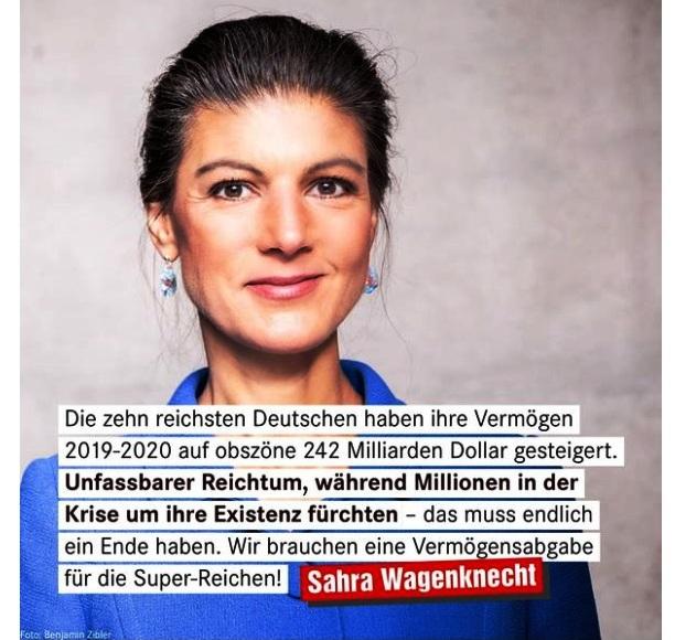 Aus dem Posteingang von Dr. Sahra Wagenknecht (MdB) - Team Sahra 28.01.2021 - Menschenleben zählen nicht - der große Profit der Pharmakonzerne - Abschnitt 6 von 8 Abschnitten