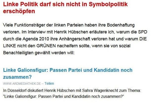 Aus dem Posteingang von Dr. Sahra Wagenknecht (MdB) - Team Sahra 29.04.2021 - #allesdichtmachen - Wie liberal ist unsere Gesellschaft? - Abschnitt 3