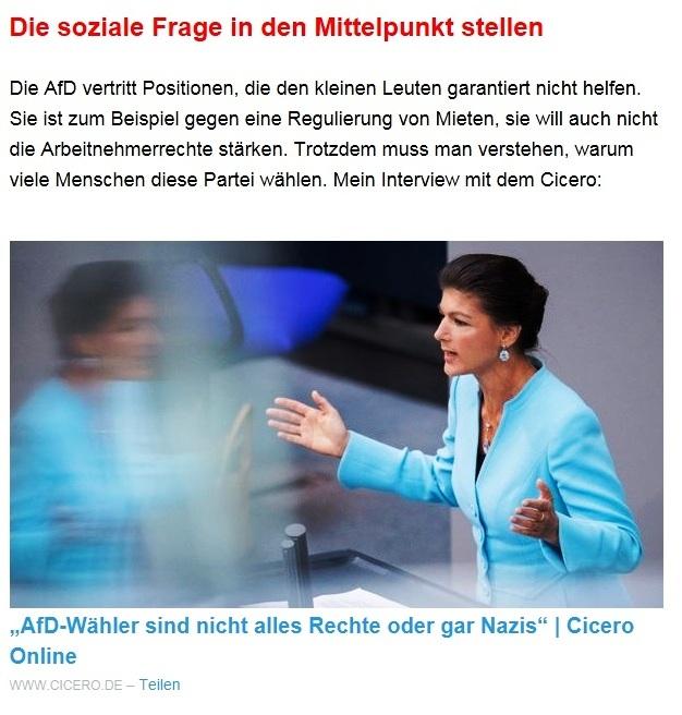 Aus dem Posteingang von Dr. Sahra Wagenknecht (MdB) - Team Sahra 29.04.2021 - #allesdichtmachen - Wie liberal ist unsere Gesellschaft? - Abschnitt 4