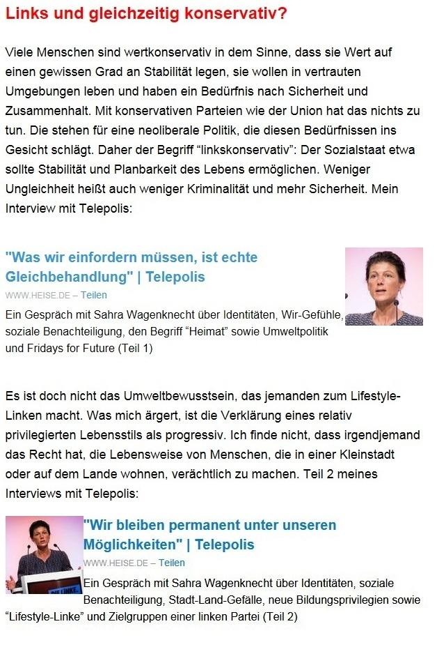 Aus dem Posteingang von Dr. Sahra Wagenknecht (MdB) - Team Sahra 29.04.2021 - #allesdichtmachen - Wie liberal ist unsere Gesellschaft? - Abschnitt 6