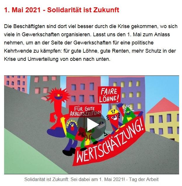 Aus dem Posteingang von Dr. Sahra Wagenknecht (MdB) - Team Sahra 29.04.2021 - #allesdichtmachen - Wie liberal ist unsere Gesellschaft? - Abschnitt 8