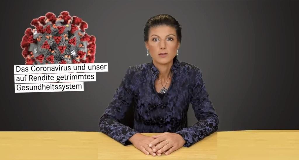 Coronavirus und das kaputtgesparte Gesundheitssystem | Bessere Zeiten – Wagenknechts Wochenschau #04