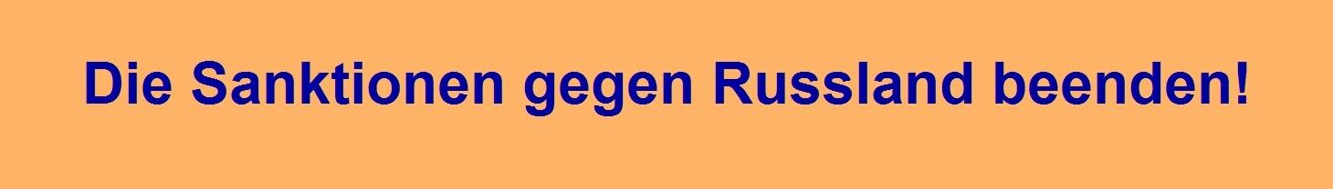 Wolfgang Gehrcke, Abgeordneter des Deutschen Bundestages: Die Sanktionen gegen Russland beenden!