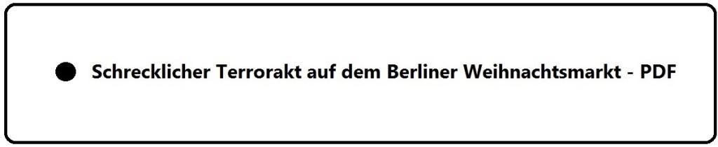 Schrecklicher Terrorakt auf dem Berliner Weihnachtsmarkt - Der stille Held bei dem Berliner Terrorakt ist wohl der polnische  Fahrer Lukasz U. (†37)! - Wahrscheinlich verhinderte  Lukasz U.  mit seinem heldenhaften Einsatz noch Schlimmeres! - Mindestens 12 Tote und 48 Verletzte bei schrecklichem Terrorakt in der Hauptstadt  Berlin!  - PDF