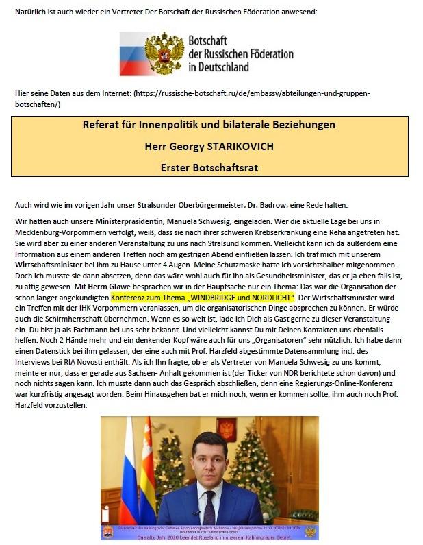 Antwort auf Anfrage zum 8. Mai 2021 in Stralsund - Aus dem Posteingang von Siegfried Dienel vom 04.05.2021 - Abschnitt 2