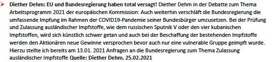 Politik und Corona - E-Mail an Frau Rüsing - Aus dem Posteingang von Siegfried Dienel vom 08.03.2021 - Abschnitt 7