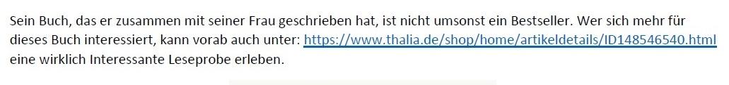 Corona und Politik - Teil 2 - E-Mail an Karoline Rüsing vom 17.03.2021 - Aus dem Posteingang von Siegfried Dienel vom 18.03.2021 - Link: https://www.thalia.de/shop/home/artikeldetails/ID148546540.html - Buch von Dr. Karina Reiss und Dr. Sucharit Bhakdi - Corona Fehlalarm? - Zahlen, Daten und Hintergründe