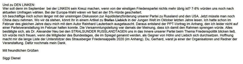 Aus dem Posteingang - Email von Siegfried Dienel vom 20.01.2021 - Debatte zu Linke Sicherheitspolitik von Matthias Höhn - Abschnitt 2