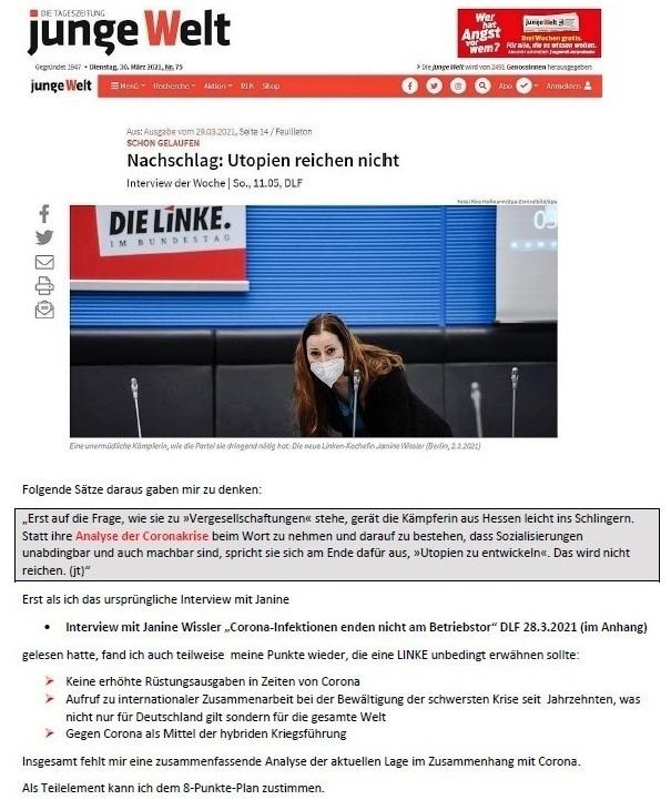 Antwort auf die Mail von Achim - Aus dem Posteingang von Siegfried Dienel vom 29.03.2021 - Abschnitt 3