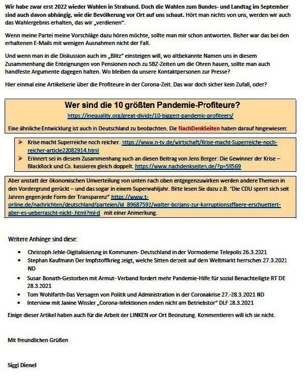 Antwort auf die Mail von Achim - Aus dem Posteingang von Siegfried Dienel vom 29.03.2021 - Abschnitt 6