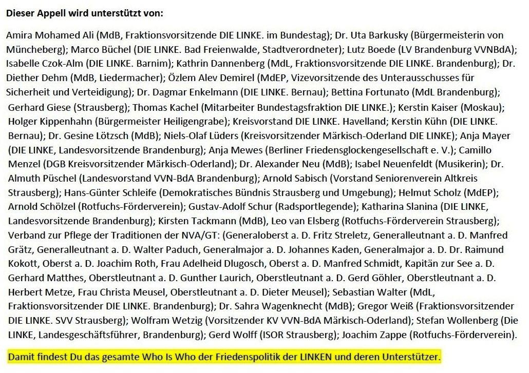 Aus dem Posteingang - Email von Siegfried Dienel vom 04.01.2021 - Brief von Gerhard Giese Strausberger Gesprächskreis weitergeleitet - Abschnitt 3