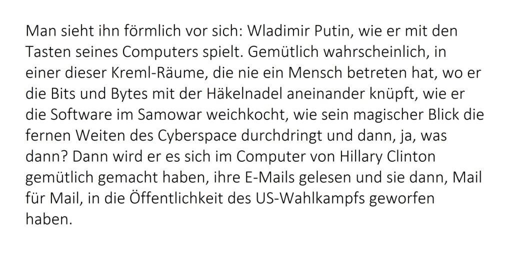Startseite: Putin ist der Feind - So bereitet man Kriege vor - Rationalgalerie.de - Autor des Beitrages:  Ulrich Gellermann - Datum: 09. Januar 2017