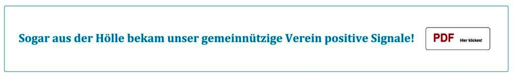 Gemeinnütziger Heimat- und Bildungsverein Ribnitz-Damgarten e. V. - Sogar aus der Hölle bekam unser gemeinnützige Verein positive Signale! - PDF