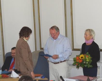 Frau Heike Karnatz, Leiterin des Amtes für Tourismus, Schule und Kultur, wurde zur zweiten Stellvertreterin des Bürgermeisters unserer Bernsteinstadt Ribnitz-Damgarten gewählt. Foto: Eckart Kreitlow