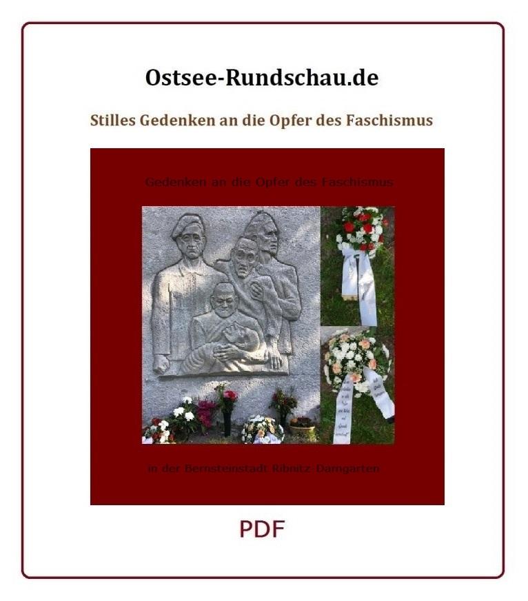 Stilles Gedenken zum 75. Jahrestag der Befreiung vom Faschismus am 8. Mai 2020 in Ribnitz-Damgarten - PDF