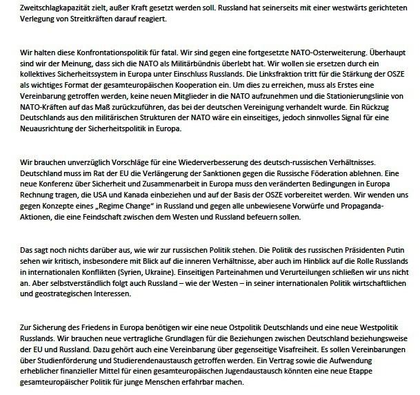 Themenpapiere zu Russland der Fraktion DIE LINKE im Bundestag - Aus dem Posteingang von Siegfried Dienel vom 27.05.2021 - Abschnitt 2