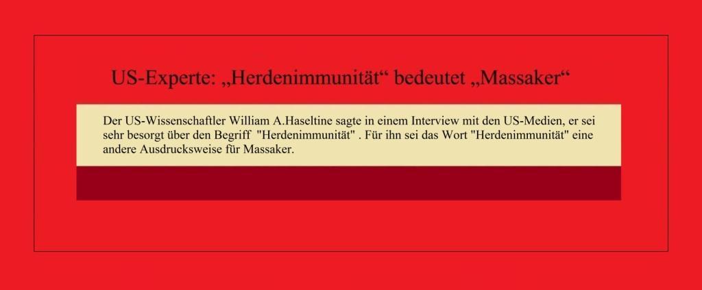 US-Experte: 'Herdenimmunität' bedeutet 'Massaker' - CRI online Deutsch - 15.10.2020