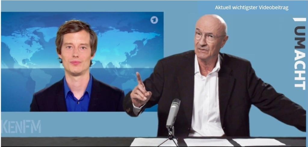 Rationalgalerie.de - Uli Gellermann: In der Serie bei KenFM 'Die Macht um Acht'- siehe Link - Beste Grüße, Uli Gellermann