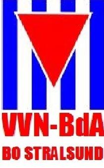 LOGO der Vereinigung der Verfolgten des Naziregimes - Bund der Antifaschistinnen und Antifaschisten (VVN-BdA) - BO Stralsund