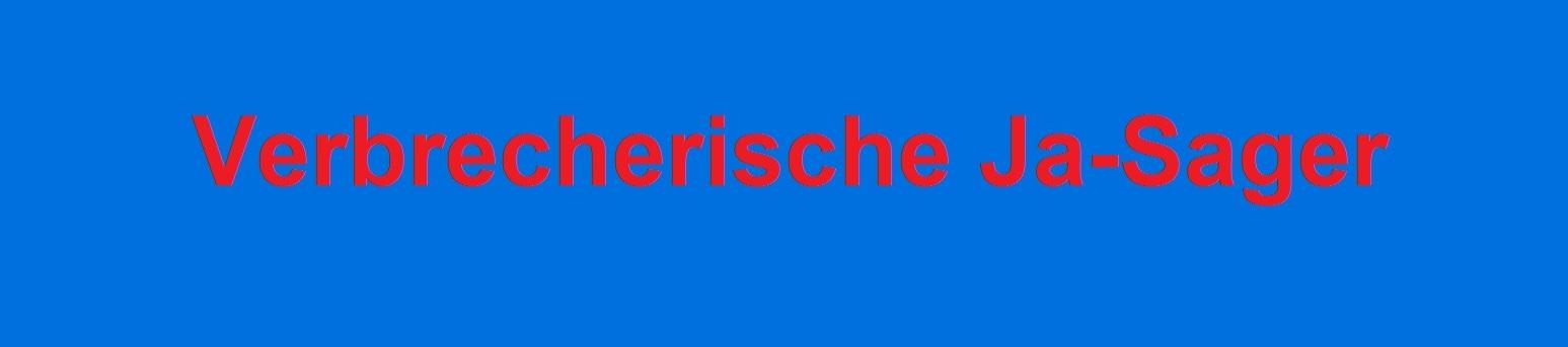 Verbrecherische Ja-Sager | Strafanzeige gegen Bundestags-Mitglieder wegen Bundeswehr-Einsatz in Syrien