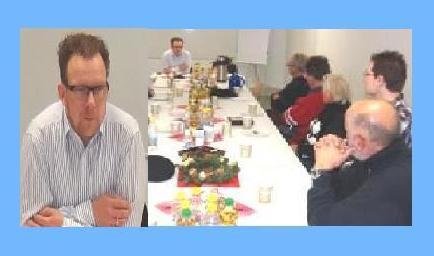 Regionalversammlung der Partei Die Linke auf Initiative des damaligen Ribnitz-Damgartener Sprecherrates DIE LINKE mit dem damaligen Landesvorsitzenden der Partei Die Linke  von Mecklenburg-Vorpommern und heutigen Sozialsenator der Hansestadt Rostock Steffen Bockhahn am 6.Dezember 2011 in Ribnitz-Damgarten. Der Sprecherrat DIE LINKE Ribnitz-Damgarten wurde bei den Neuwahlen 2013 einstimmig in Ortsverband DIE LINKE Ribnitz-Damgarten umbenannt. Foto: Eckart Kreitlow