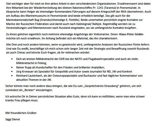 Vorschlag zur Zusammenarbeit - Aus dem Posteingang von Siegfried Dienel vom 15.02.2021 - Abschnitt 5 von 5 Abschnitten
