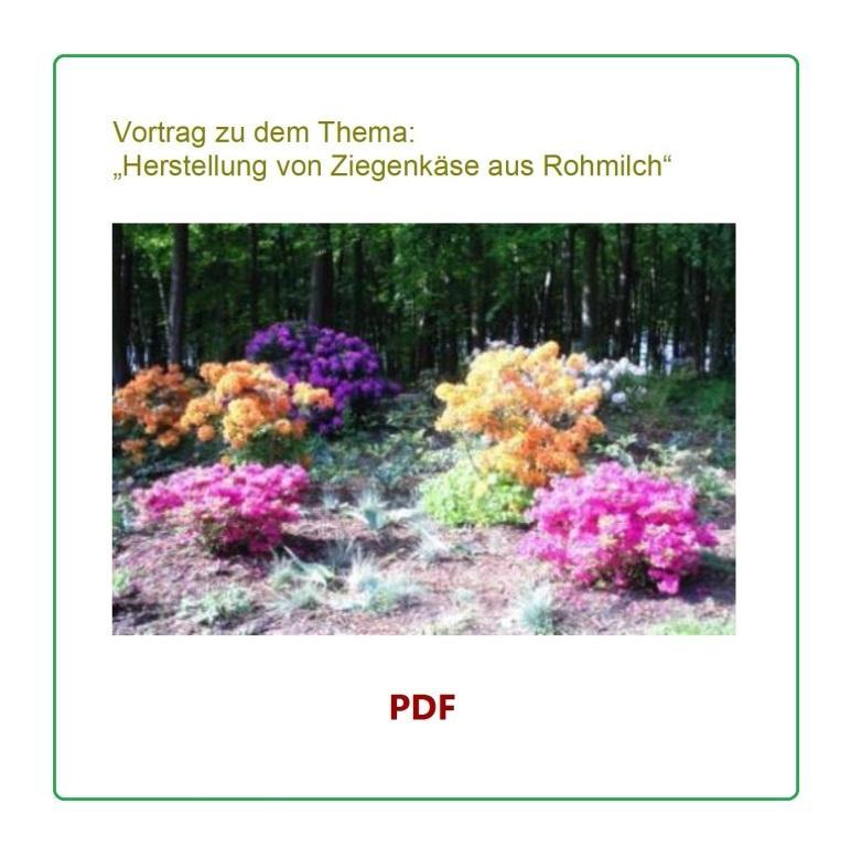 Vortrag zu dem Thema 'Herstellung von Ziegenkäse aus Rohmilch' von und mit Herrn Günter Klebingat vom Ziegenhof Palmzin  am 25.November 2011 in den Räumlichkeiten am 'Stadion am Bodden' in Ribnitz-Damgarten.