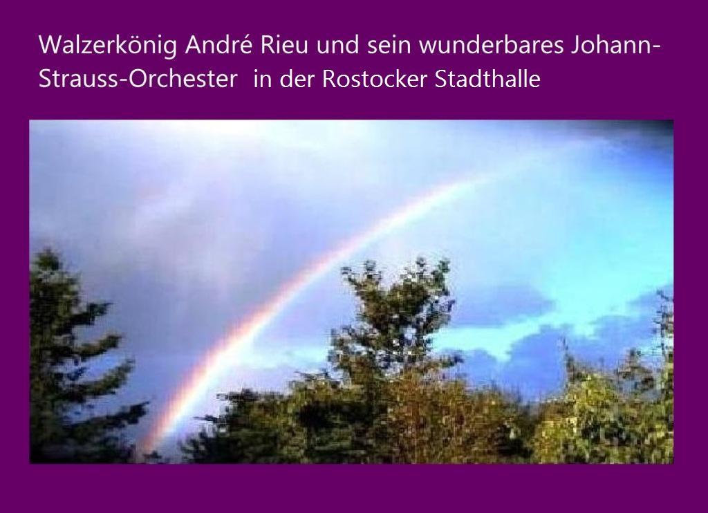 Der Walzerkönig André Rieu und sein wunderbares Johann-Strauss-Orchester in der Stadthalle Rostock. Ein schöner Abend mit André Rieu, weiteren weltberühmten Stars der Musik und seinem wunderbaren Johann-Strauss-Orchester am 4.Februar 2014.