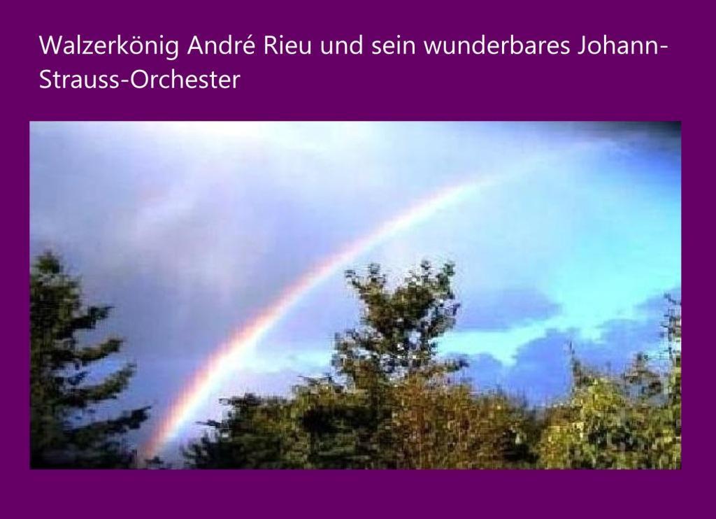 Walzerkönig André Rieu  und sein wunderbares Johann-Strauss-Orchester