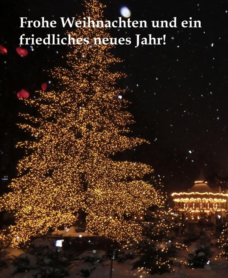 Weihnachtsmarkt Tivoli in der dänischen Hauptstadt Kopenhagen - Foto: Eckart Kreitlow