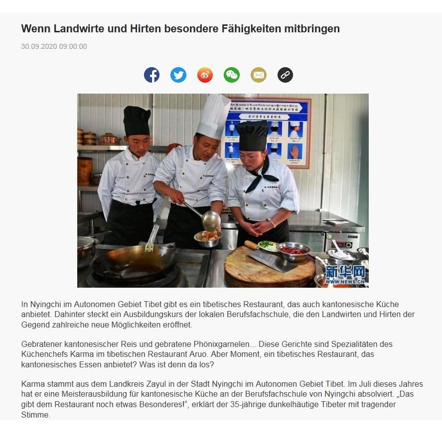 Wenn Landwirte und Hirten besondere Fähigkeiten mitbringen -  CRI online Deutsch - 30.09.2020