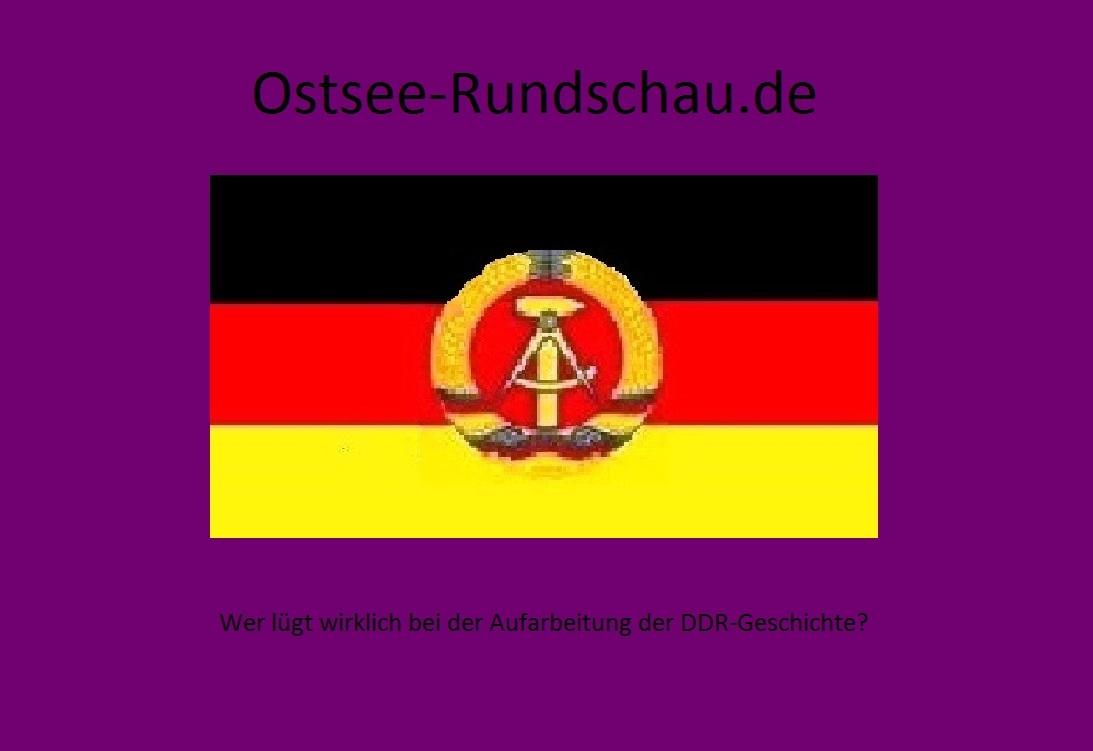 Wer lügt wirklich bei der Aufarbeitung der DDR-Geschichte?