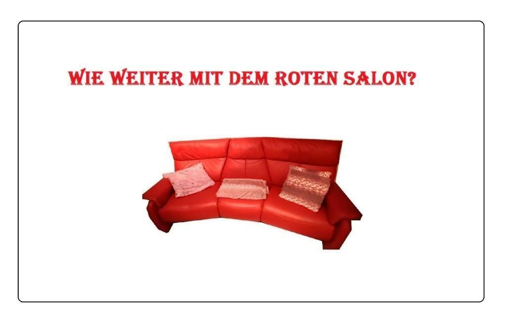 Aus dem Posteingang von Siegfried Dienel - Wie weiter mit dem ROTEN SALON? - PDF